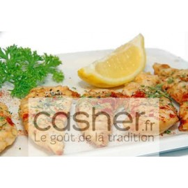 Escalopes de Dinde casher