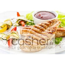 Escalopes de Poulet cacher